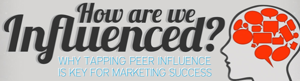 How are we influenced?- Infografía