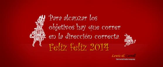 Feliz 2014 desde Lewis & Carroll